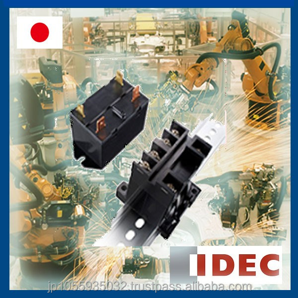 Various kinds of top flange control relay with indicator light made in Japan