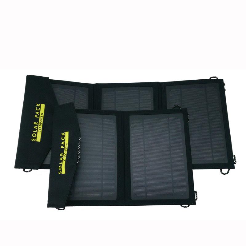 Singapore,10W Bag Foldable Solar Charger Kit integrated with Fabric bag,collapsible solar bag as power bank for mobile charging