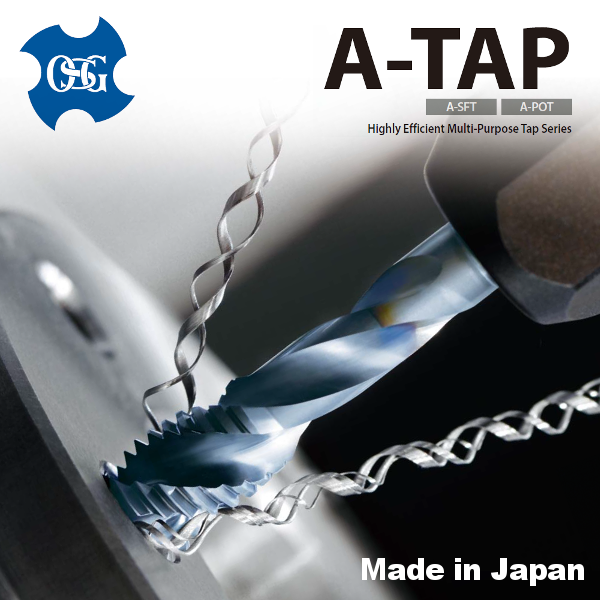 High-performance and Cost-effective HSS tap, OSG A-tap , small lot order available