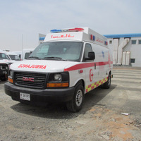 NEW CONDITION AND HIGH QUALITY AMBULANCE IN 2015 GMC SAVANNA 2500 CARGO VAN