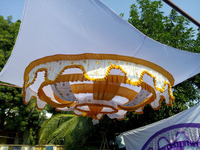 Traditinoal Theme Based Decortaive Wedding Tent Ceiling