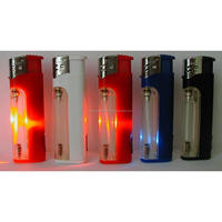 Wholesale cigarette gas cigarette Lighters - Pack Of 50 with stan