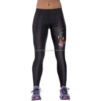Wholesale Factory Price Cat Print Gym Running For Women