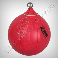 Speed Ball, Made of Cowhide Leather, Easy to Inflate