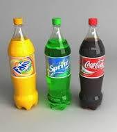 Carbonated Soft Drinks Sprite, Coke, Fanta Orange, Pepsi, Cola 1L, 1.5L, 2L