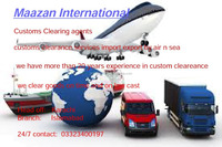 China custom clearing & freight forwarding agent in Pakistan