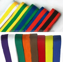 cheap Martial Arts Belt For Aikido, Jiu Jitsu, Judo, Karate, Taekwondo, Sambo, Silat and Custom Made