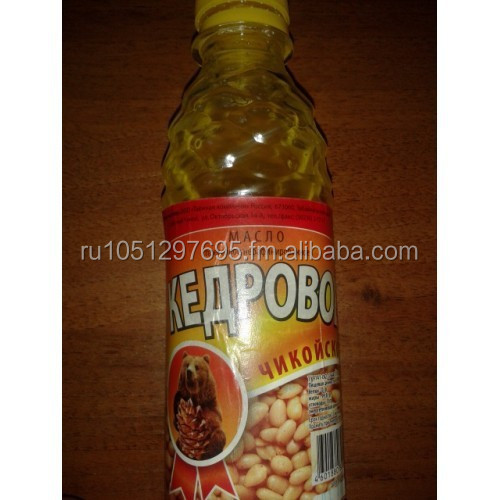 Siberian pine (cedar) nut oil in plastic bottle (250 ml)