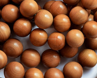 wood beads-7mm round brown beads/sandalwood/sandalwood product