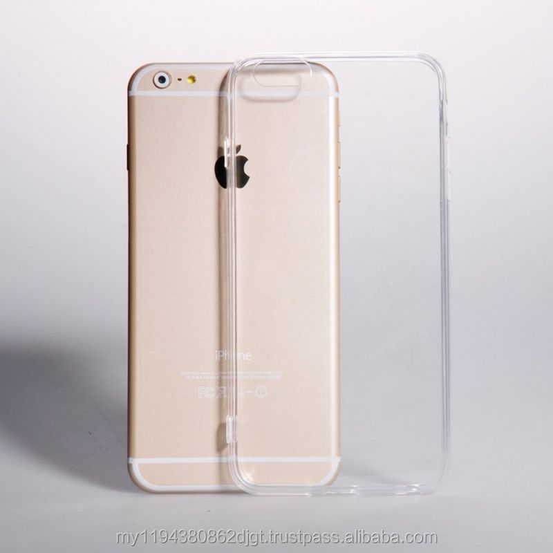 Clear Transparent Soft cover TPU case
