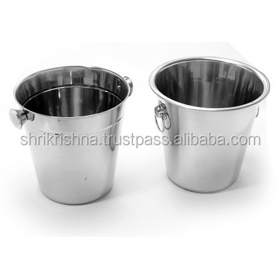 wholesale stainless steel beer/wine handle double wall wine bucket/beer High Quality wholesale price Wine Buckets