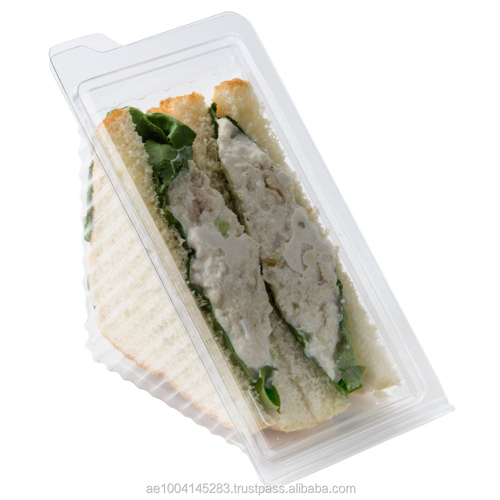 United Arab Emirates Clear Sandwich Wedge From Dubai Hotpack