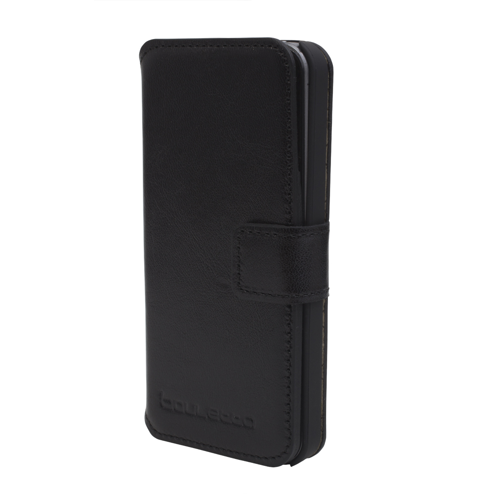 black leather case for iPhone 5S