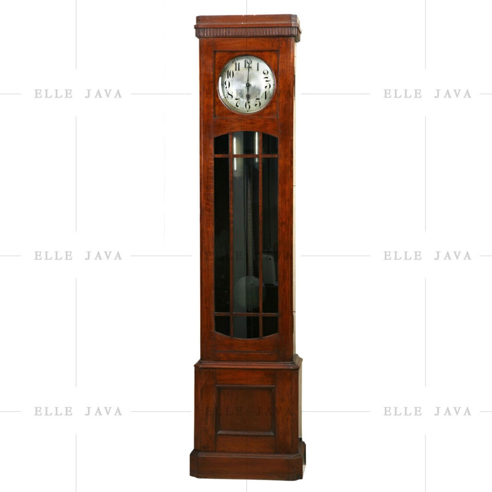 Wood Furniture Wooden Stand Clock High Quality