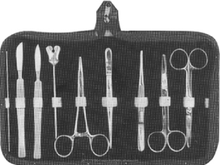Anatomy set for medical dissecting kit