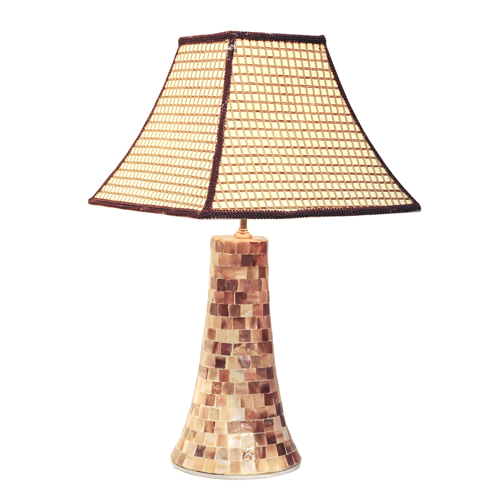 New design 2016 of table lamps, wholesale table lamps, reading lamps with seashell mosaic finish