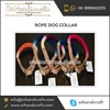 Multi Color Ombre Cotton Rope Leash/ Collar for Pets at Low Price