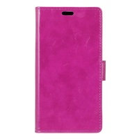 Crazy Horse Leather Wallet Case for ZTE Blade V Plus, High Quality PU Wallet Cover for ZTE V PLUS