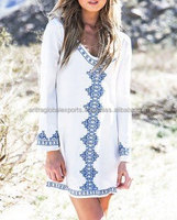 Beach Cover Up ,Cruise Wear, Boho Kimono, Sexy, Drapey Chic White and Blue