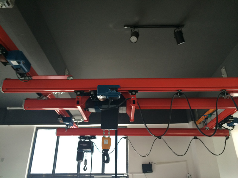 Overhead Crane 500kg : Easy operated manual kbk crane portable with