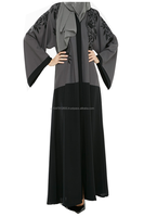 stunning muslim abaya with finest fabric and unique design