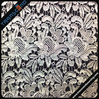 High Quality Organic Cotton lace fabric