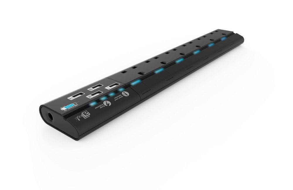 250v Voltage 4-Gang/6-Gang Surge protected power strip with USB