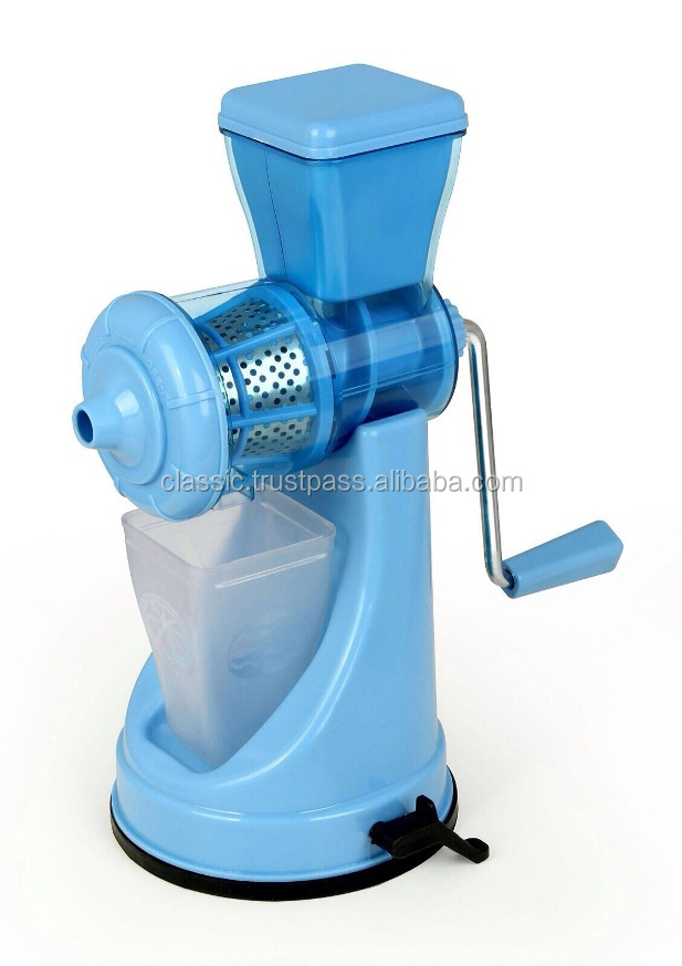 kitchen appliance Non electric vegetable juicer machine
