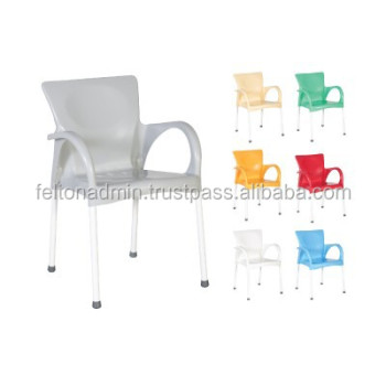Plastic Chair with steel legs 9947