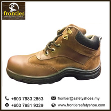 Frontier Best Selling Men's 5-Inch Safety Shoes manufacturer in Malaysia China Vietnam Full Grain Genuine Cow Buffalo Leather