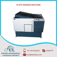 Efficient and Excellent Design Plate Printing Machine at Lowest Market Rate