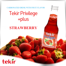 strawberry flavoured sparkling water