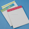 custom made paper notepads in size 4*6 inches made using handmade paper suitable for promotions and give aways