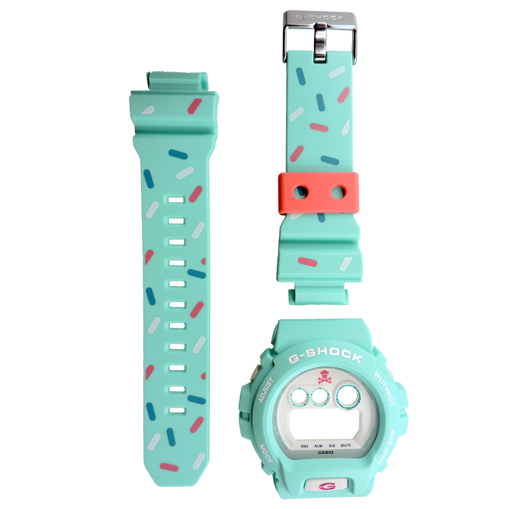 Casio G-Shock GD-X6900JC-3 Johnny Cupcake Watch Resin Band and Bezel