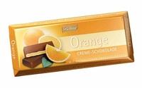 Boehme orange cream chocolate 100g