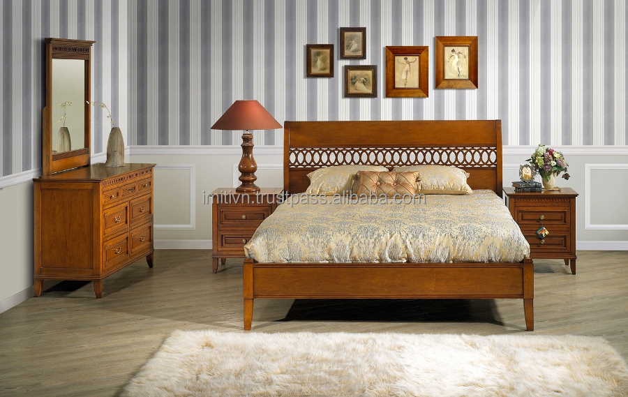american style wooden bedroom classic furniture