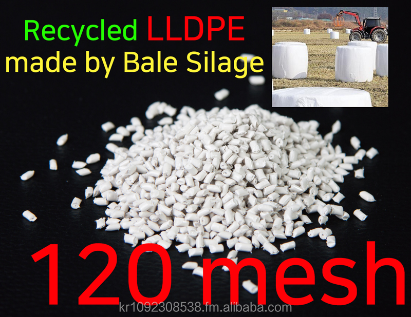 LLDPE / Recycled LLDPE in 120mesh / Factory direct sale/ Recycled Plastic pellet