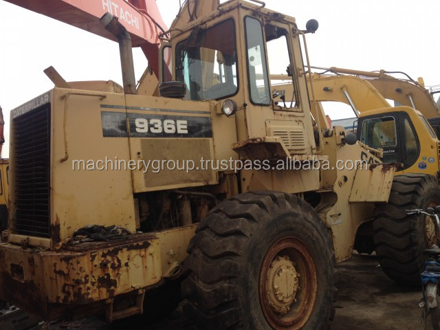 Hot Sale 936E ! Used CAT Caterpillar Wheel Loader 936E