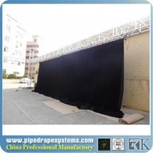 motorized covering system for curtains
