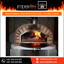 Widely Successful Model Wood Fired Brick Oven for Quick Pizza Making
