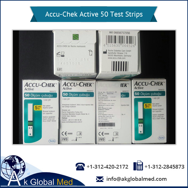 Plausibility Check Accu-Chek Active 50 Test Strips Available for Export