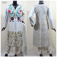 Pakistan Straight Shirt And Coat Style Salwar Kameez