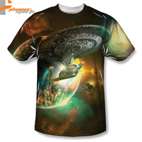 Planner Sports Battle Ships Licensed Sublimation Poly Adult Shirt S-3X