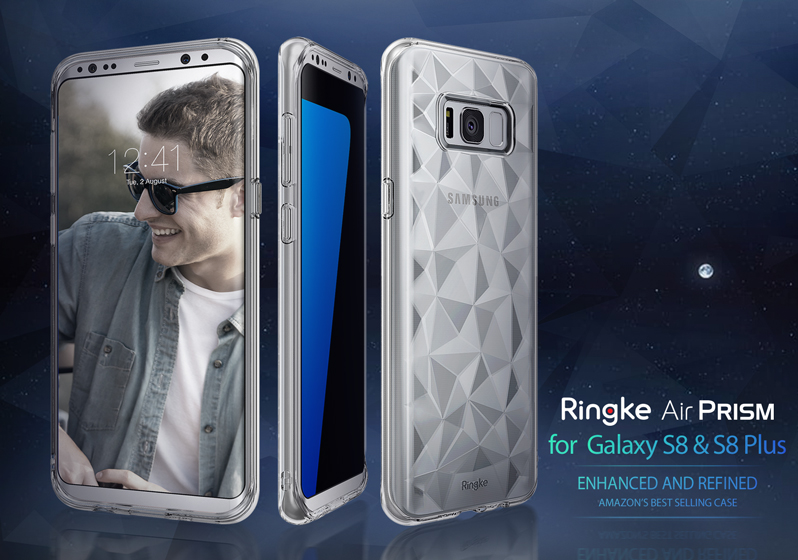 [Ringke] Ringke Air Prism - Smart Phone Case for Galaxy S8 & S8 Plus