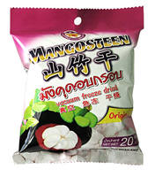 Best Selling Freeze dried Mangosteen 20 g pack dried fruit snack from Thailand