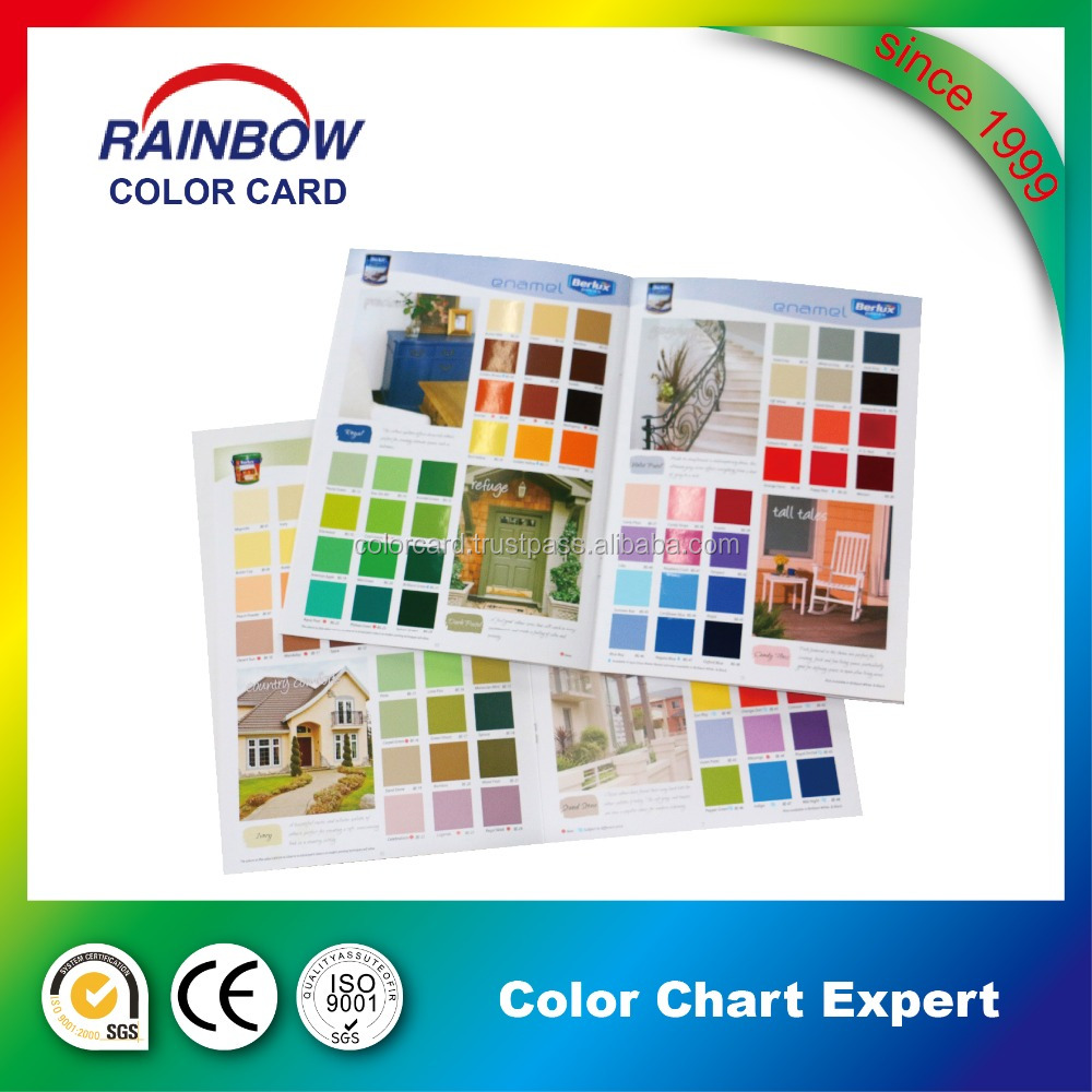 Customized Booking Printing Color Card Brochure