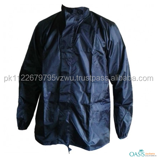 stylish blue shaded men's jacket made of a special lightweight fabric,waterproof Stay fit and dry during the rains