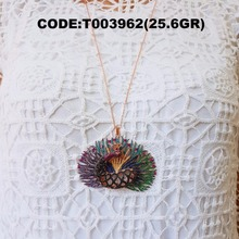 Wholesale 2017 turkish made new model , pendant , code:T003962 , 925 sterling silver jewellery