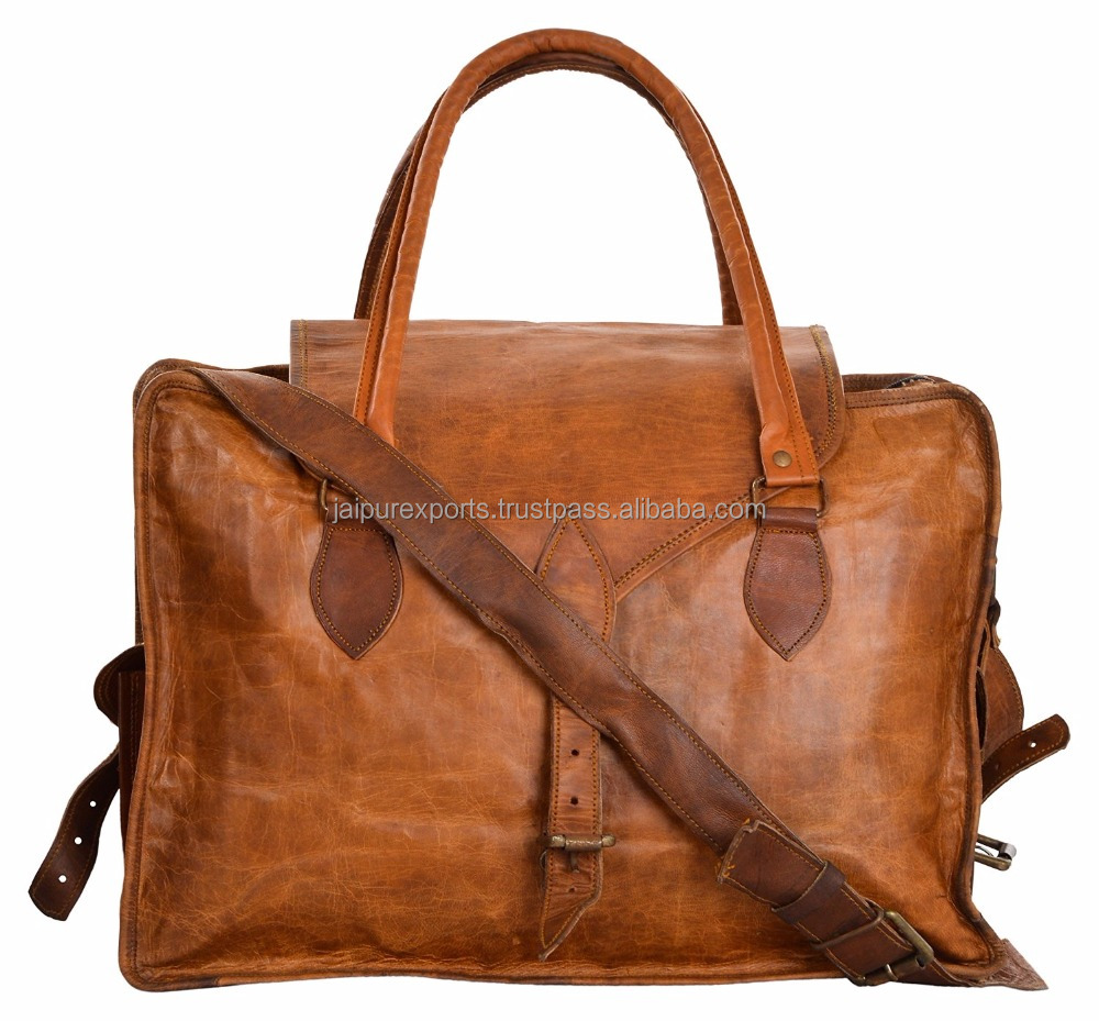 famous goat leather brand fashion laptop bag