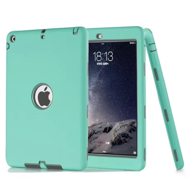 For Apple iPad Mini 1 2 3 4 Covers Hard Hybrid Armor Soft TPC + PC With Original Logo Case For ipad mini1/mini2